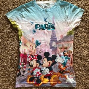 Paris - Epcot Disney & Friends T-Shirt -M